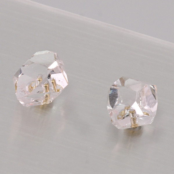 K10 Herkimer Diamond Earrings