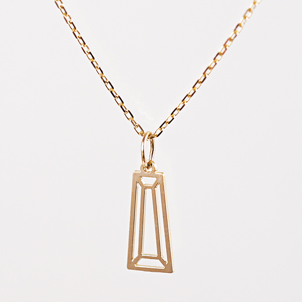 K10 Taper Cut Necklace